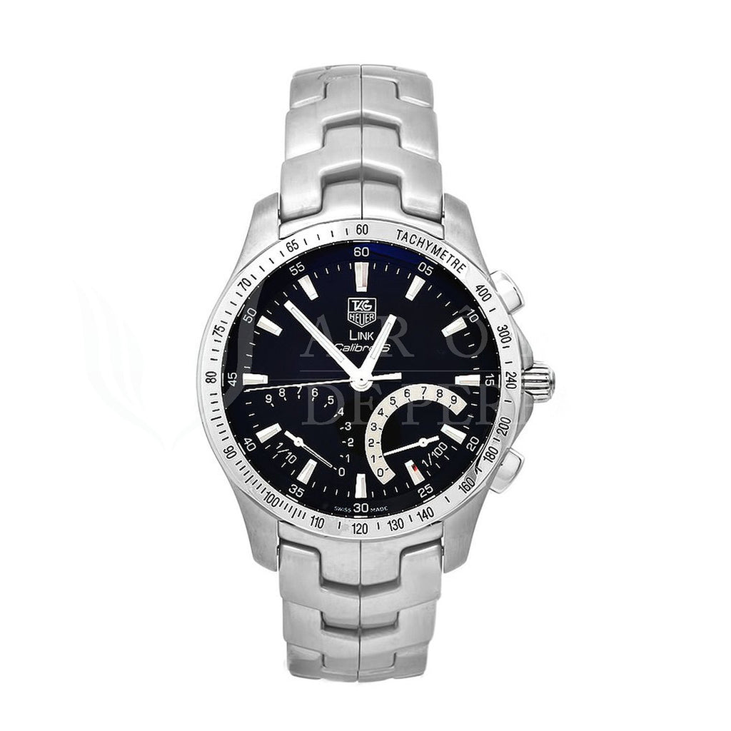 Tag Heuer  Link Calibre S Automatic Chronograph Herrenuhr - CJF7110.BA0592