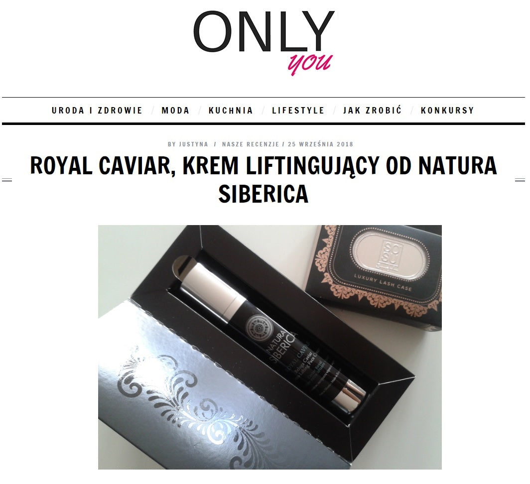 ONLY YOU o Royal Caviar