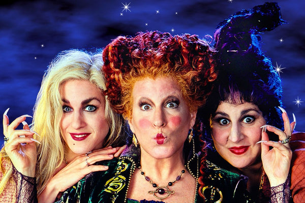 Hocus Pocus 3 main witches 3 sisters