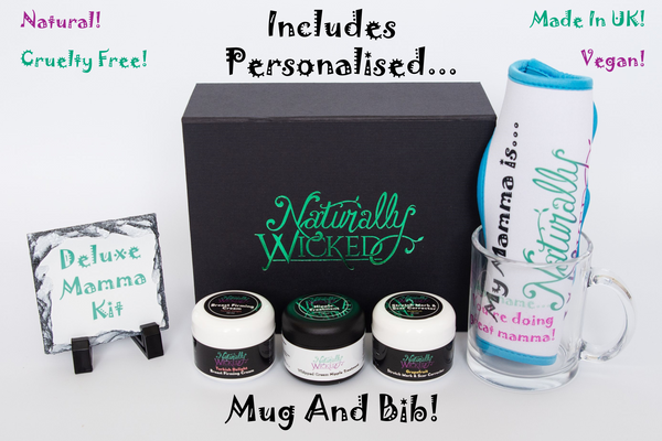 Naturally Wicked Mamma Kit - Personalised Gift Perfect For Baby Shower Gift!