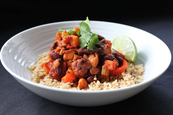 Mexican Mixed Bean Chilli & Rice