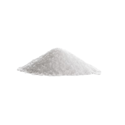 A Pile Of White Sodium Hydroxide