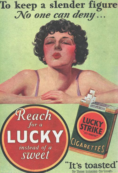 Naturally Wicked - Tobacco 1940's attitude