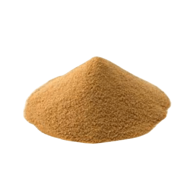 A Pile Of Brown Yeast From Which Peptamide 6 Plus Is Dervied