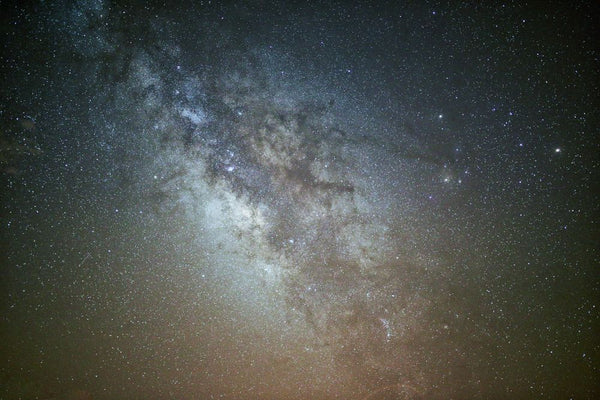 The Milky Way & Surrounding Stars In Night Sky