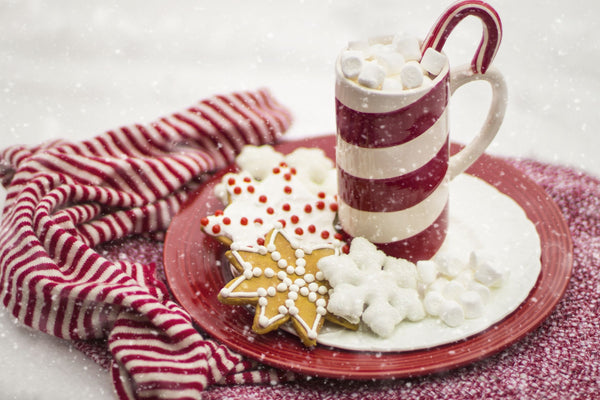 Delicious festive hot chocolate