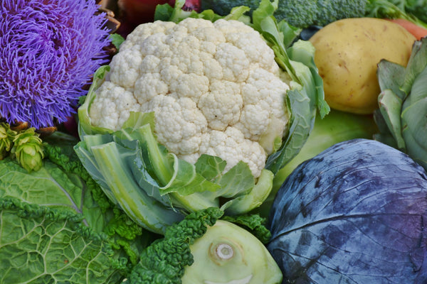 Cauliflower and veg