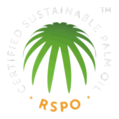 RSPO Logo Indicating That Naturally Wicked Palm Oil Is Sustainably Sourced