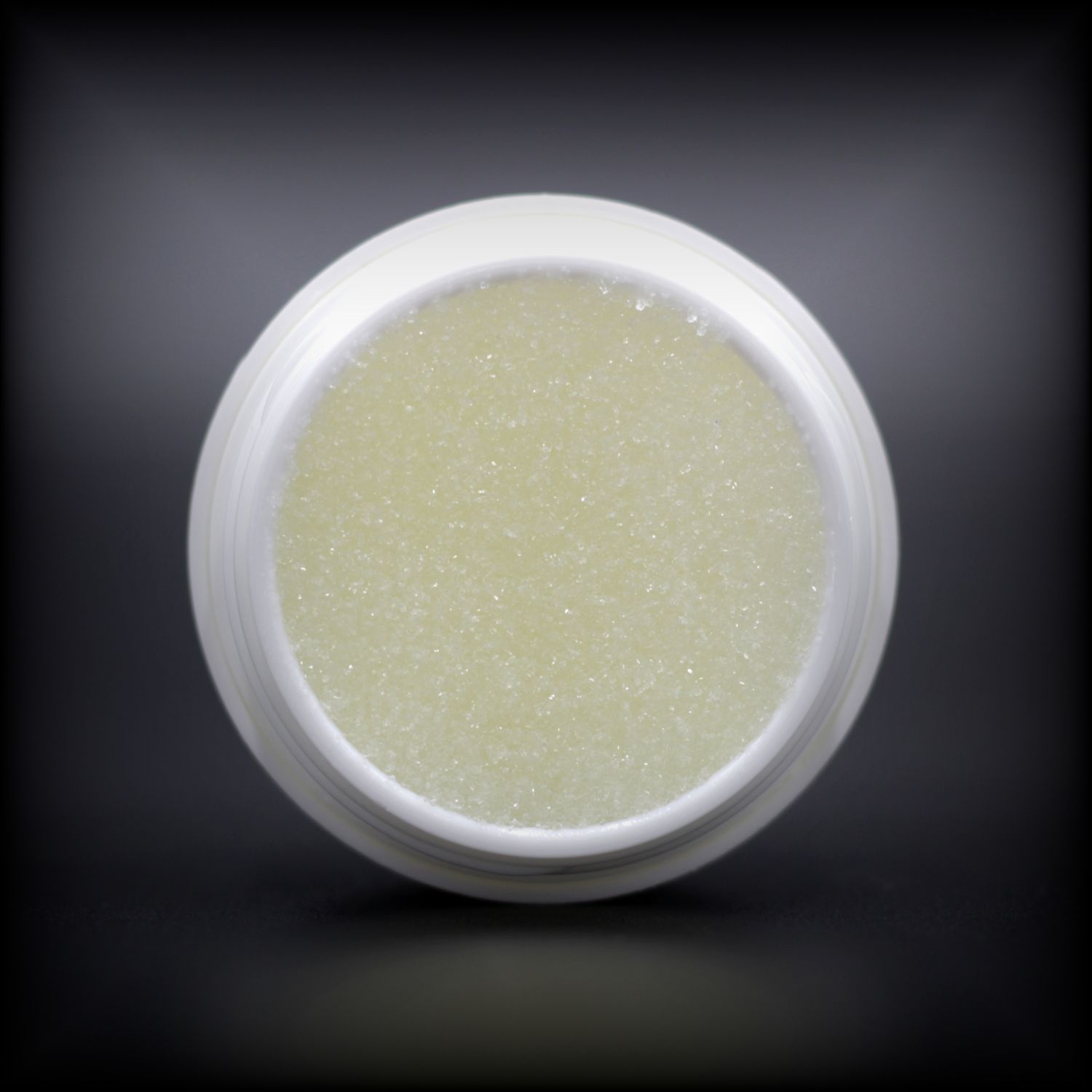 Naturally Wicked Exfoliating Peppermint Lip Scrub Inner Container, Exposing Sugar Within Hydrating Lip Scrub