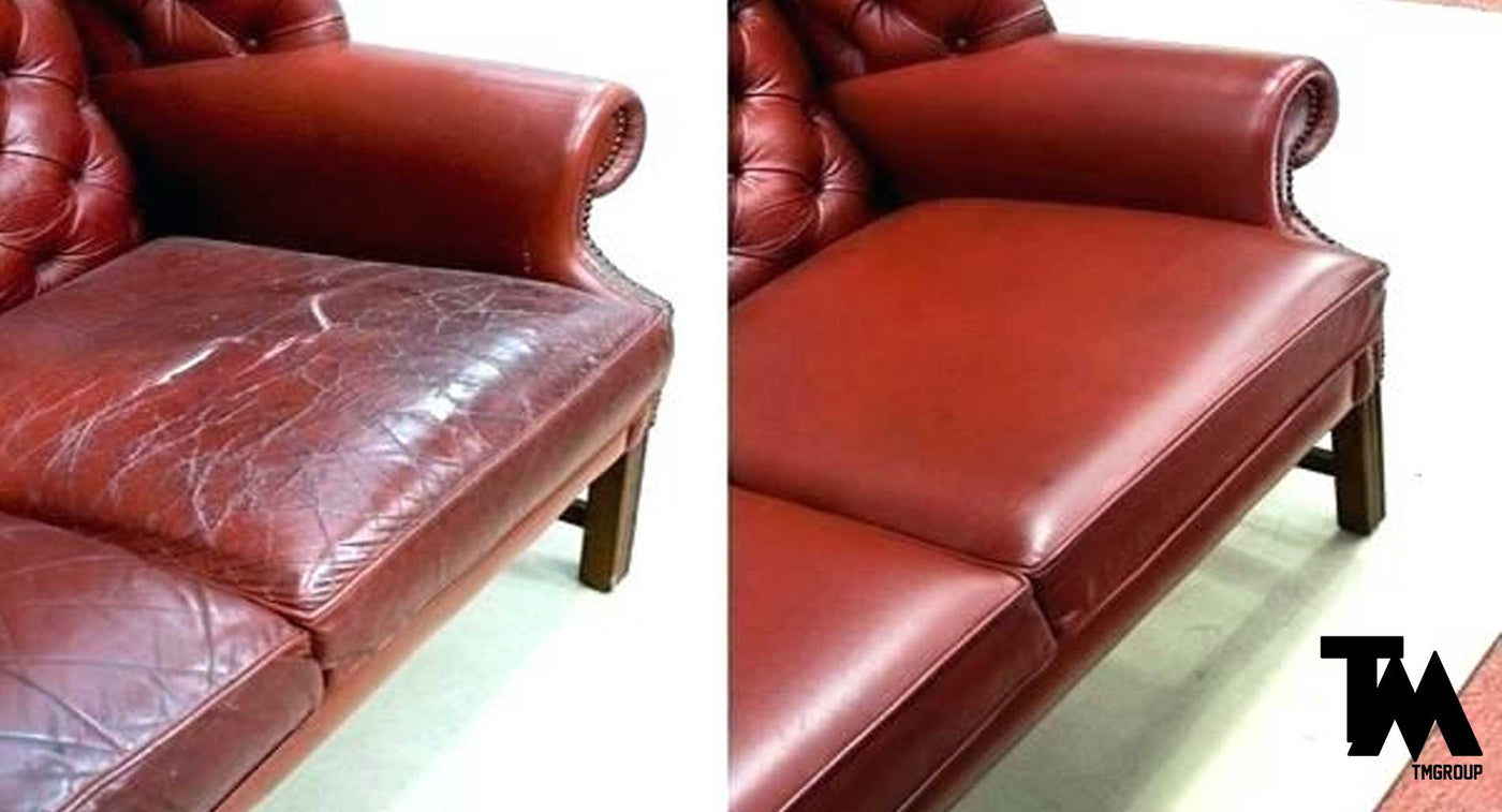 Groovy How To Fix Leather Couch Cracks Short Links Chair Design For Home Short Linksinfo