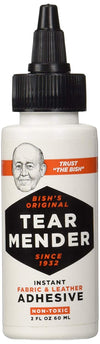 TEAR MENDER - Instant Fabric and Leather Adhesive, 4 Size of Bottle Available