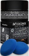 Black Leather Recoloring Balm - Leather Repair Kits for Couches - Leather Color Restorer for Furniture, Car Seats, Belt, Boots - Leather Repair Cream for Upholstery - Refurbishing Black Leather Dye - TM Leather