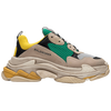 TRIPLE S GREEN YELLOW BALENCIAGA - TM Leather