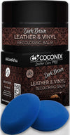Dark Brown Leather Recoloring Balm - Leather Repair Kits for Couches - Leather Restorer for Couches Brown Car Seat, Boots - Cream Leather Repair for Upholstery -