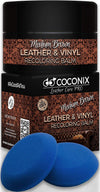 Brown Leather Repair Kits for Couches - Leather Color Restorer for Furniture, Car Seats, Furniture - Leather Recoloring Balm Leather Repair Cream Leather Repair for