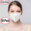KN95 Protective Face Mask - Pack Of 50 ( $1.49 / Unit ,Free Shipping ) - TM Leather