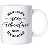 House Warming Presents Housewarming Gifts For New Homeowner Gifts New Home New Adventure New Memories Coffee Mug For Women Men Coffee Mugs - TM Leather
