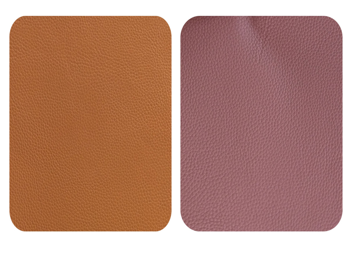 Brown Tan Leather Repair Patches , Multiple Size