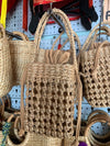 Handwoven Bag Summer Beach Weave Bag - Style 17 - TM Leather