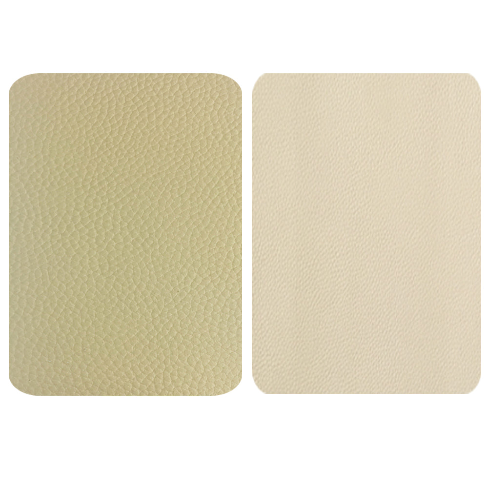 Beige Leather Repair Patches , Multiple Size
