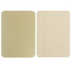 Medium Beige Leather Repair Patches , Multiple Size