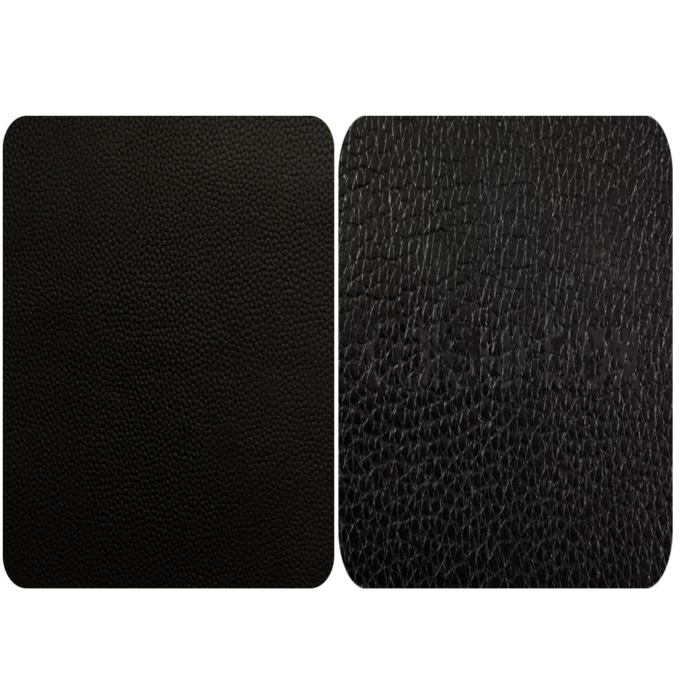 Black Shiny Leather Repair Patches , Multiple Size