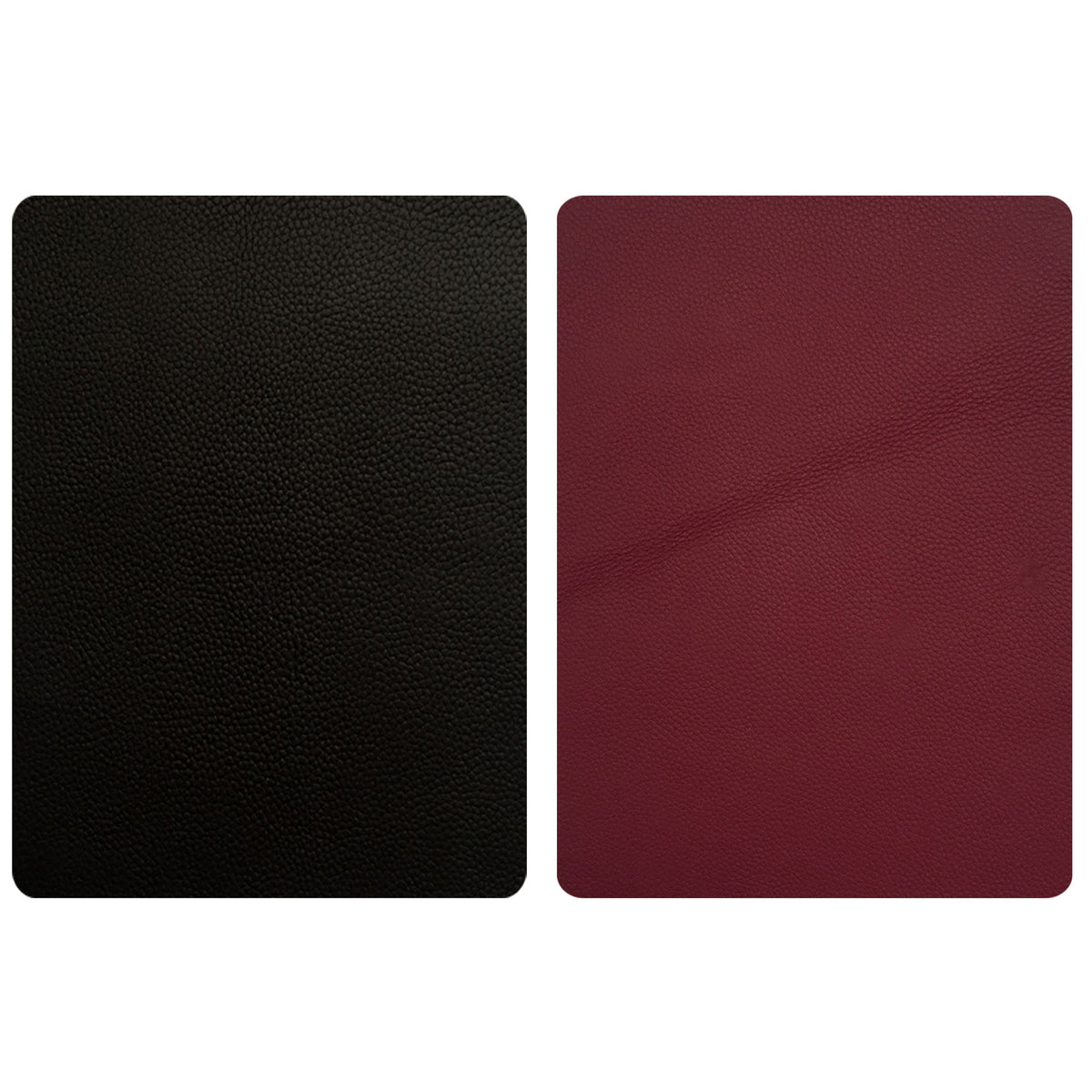 Black Leather Repair Patches , Multiple Size