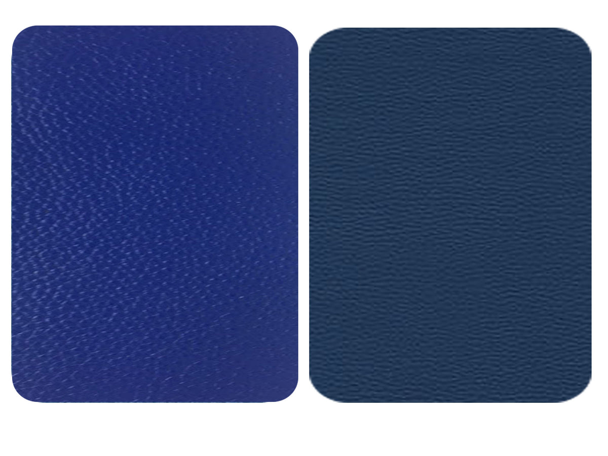 Blue Cobalt Leather Repair Patches , Multiple Size