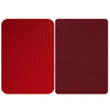 Red Genuine Leather Repair Patches , Multiple Size