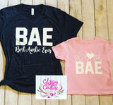 KIDS & ADULTS - BAE - I Love BAE Set (cursive)