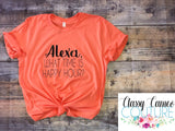 ADULTS - Alexa, What Time is Happy Hour Roundneck Tee