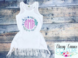 KIDS - CREATE YOUR OWN! Fringe dress/swim cover