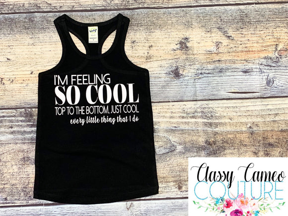 KIDS - I'm Feeling So Cool - Jonas brothers tank or tee
