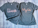 KIDS - Unisex Name Shirts