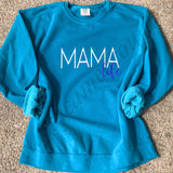 ADULTS - Mama Life Comfort Colors Sweatshirt