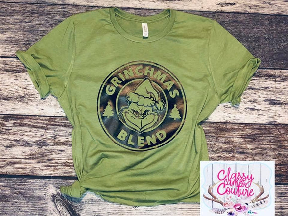 ADULTS - Grinchmas Blend Unisex Crewneck Tee