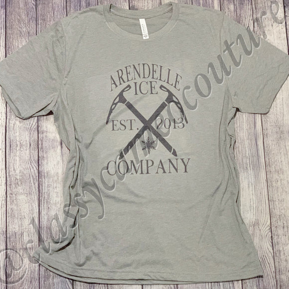 KIDS & ADULTS - Arendelle Ice Company Frozen Tee