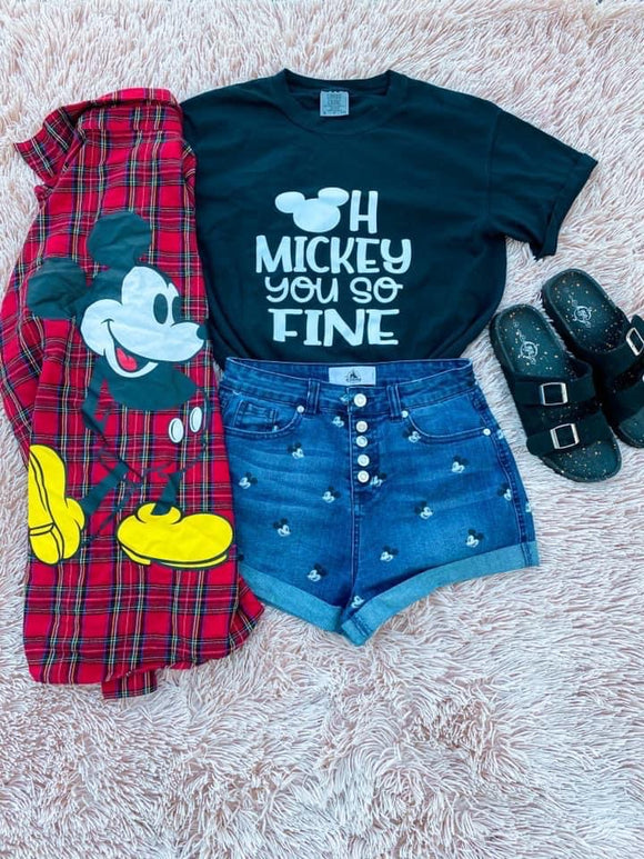 KIDS & ADULTS - Oh Mickey You so Fine Tee