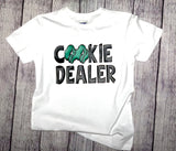 KIDS - Cookie Dealer Girl Scout Tee
