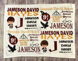 CUSTOMIZE YOUR OWN NAME BLANKET