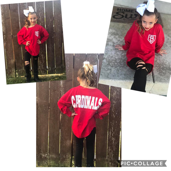 YOUTH - Cardinals Spirit Jersey