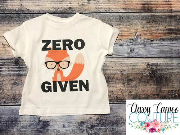 KIDS - Zero Fox Given Tee