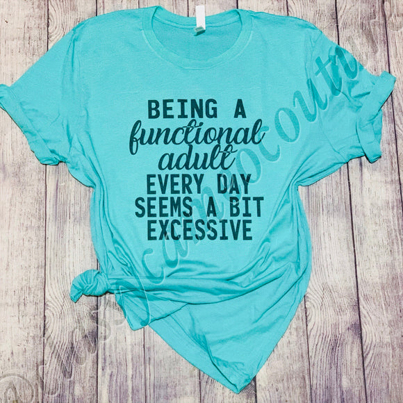 ADULTS - Functional Adult Tee