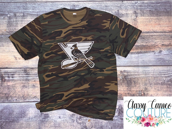 STL Cards/Blues Dark Camo Unisex Tee