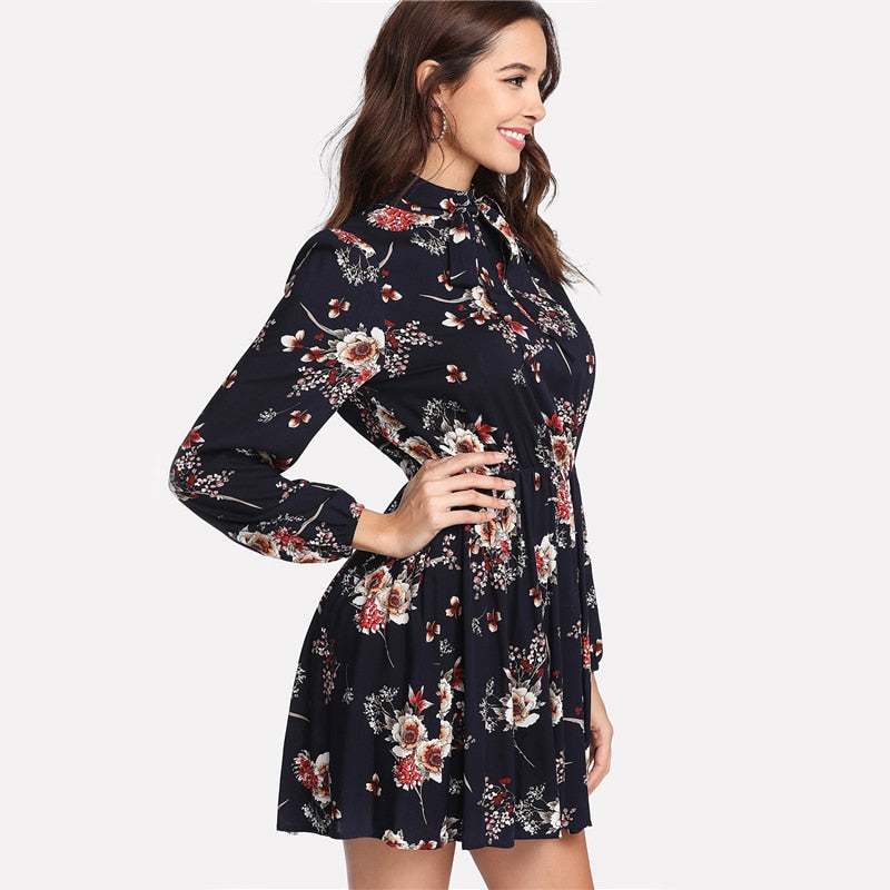 Floral Chic Dress