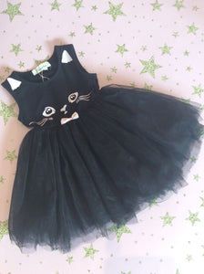 Black Cat Tutu Dress