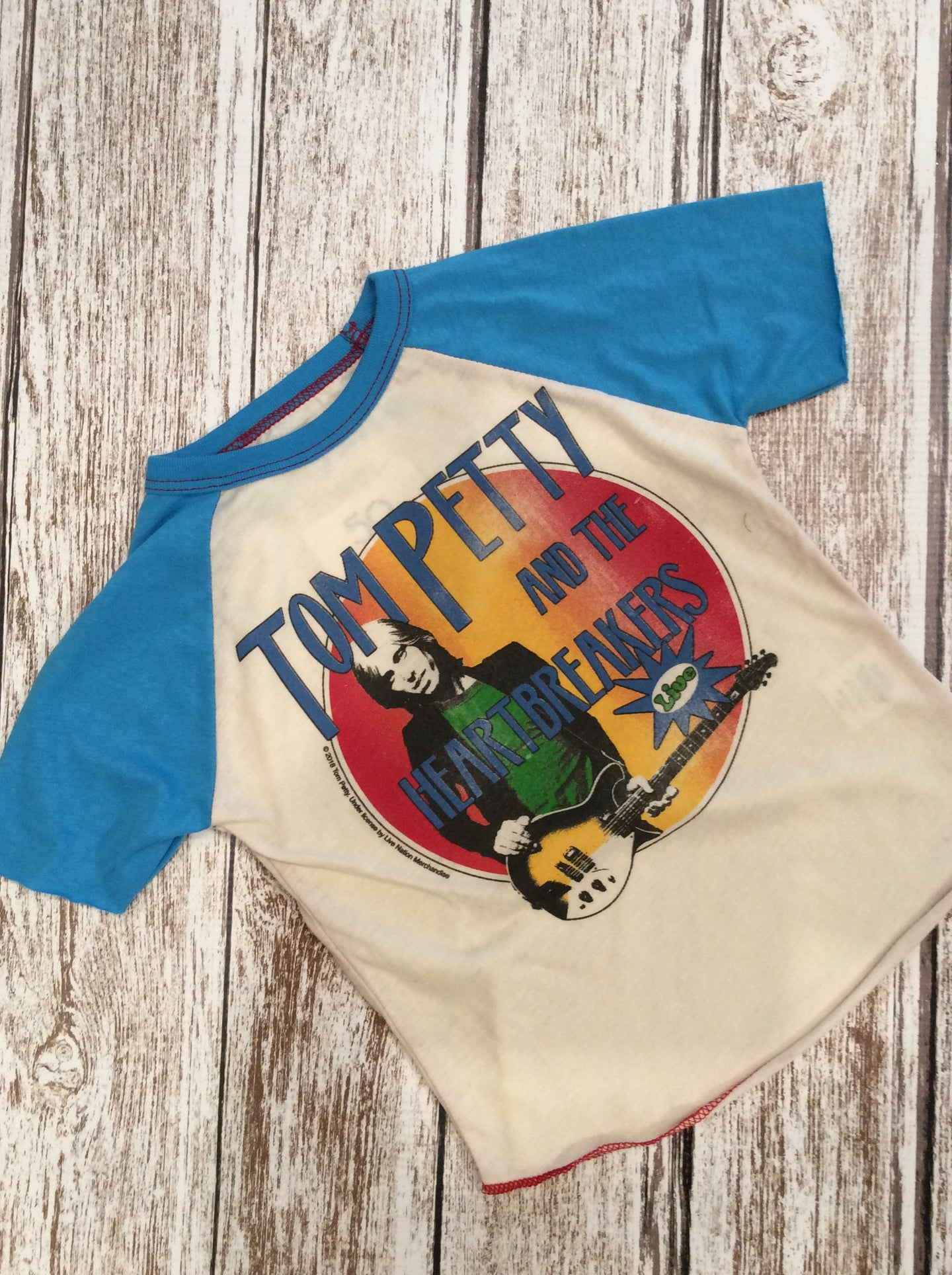 Tom Petty Raglan