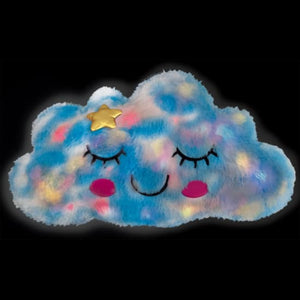 Sleepy Cloud Light-Up pillow