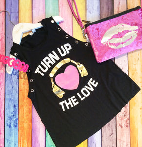 Turn Up The Love Tank Top