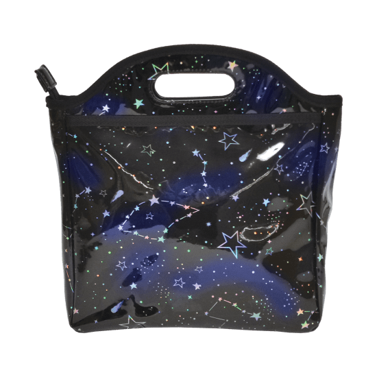 Constellation Holographic Lunch Tote